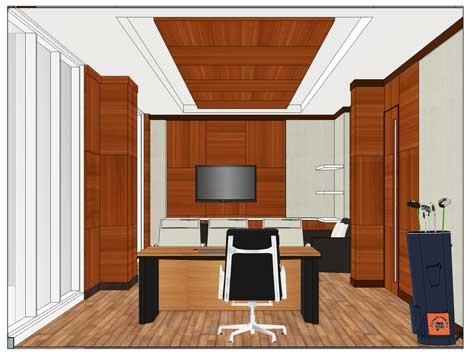 interior ruang kantor